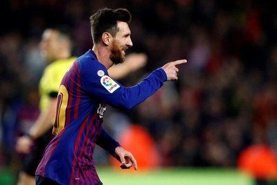 Messi, a igualar la marca de Giggs