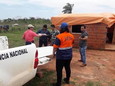 Asisten a comunidades de Itapúa y Presidente Hayes afectadas por temporal