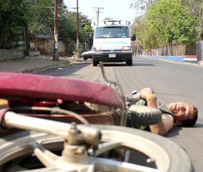Largo feriado con decenas de accidentados en motos y otros heridos reportan desde Hospital Regional