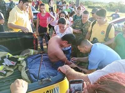 Rescatan a jóvenes atrapados en el Cerro Memby