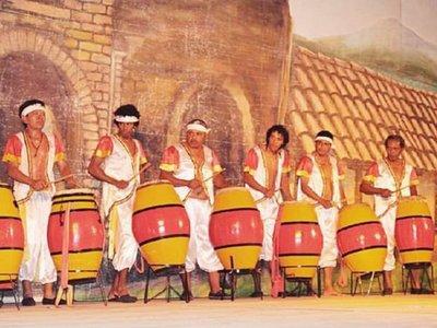 Al son de los tambores se prepara para mañana   fiesta de Kamba Cua