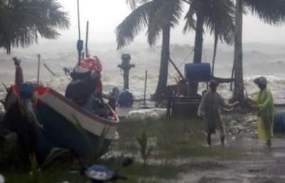 Unos 7.000 evacuados en el sur de Tailandia por la tormenta Pabuk