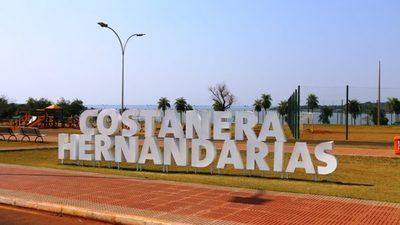 La costanera de Hernandarias y 33 balnearios son aptos para los bañistas