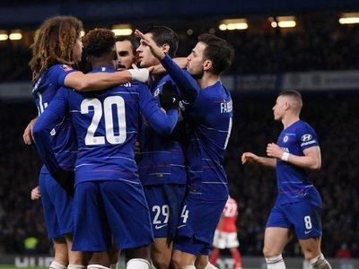 Un doblete de Morata clasifica al Chelsea