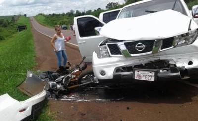 Cuadruple choque deja un fallecido en Iruña