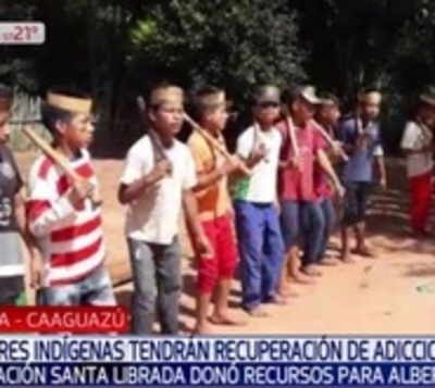 Indígenas serán beneficiados con sala de rehabilitación para adictos