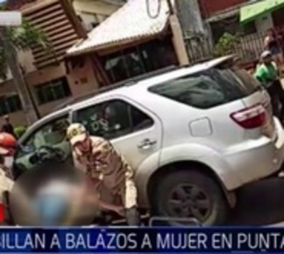Acribillan a paraguaya en Ponta Porã