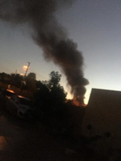 Ante inacción municipal siguen soportando quema de basuras