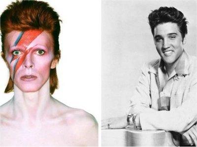 Elvis Presley y David Bowie nacían en un día como hoy