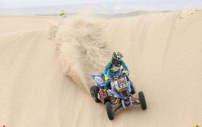 Sanabria y Lafarja culminan la segunda etapa del Rally Dakar