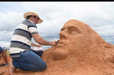 Escultura en Arena: harán concurso en playa Mbói Ka´ê