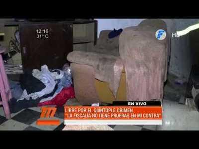 Quíntuple crimen: Marcelo Sosa recuperó su libertad