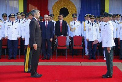 Presidente recibirá a altos mandos militares  en su despacho del Comando en Jefe