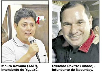 Dos intendentes culpan a fallecidos