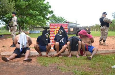 Caen cinco criminales brasileños
