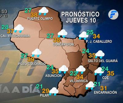 Anuncian lluvias desde hoy