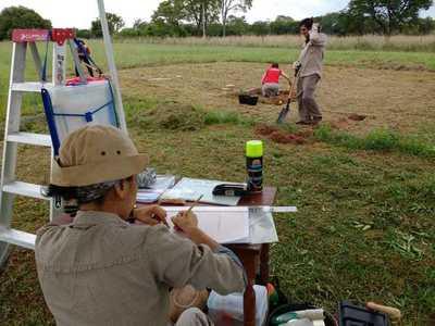 La SNC inicia estudios arqueológicos preventivos en el Campamento Cerro León
