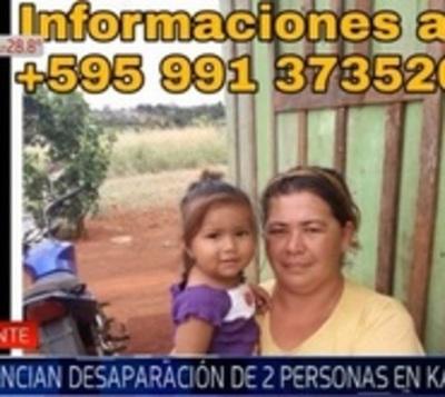 Denuncian desaparición de niñera y bebé de 10 meses en Canindeyú