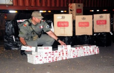 Cae cargamento de cigarrillos paraguayos en Posadas