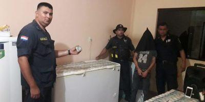 Policía captura a menor buscado por  hurto y recupera dinero