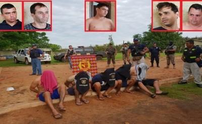 "Cinco brasileños ""de la pesada"" son detenidos"