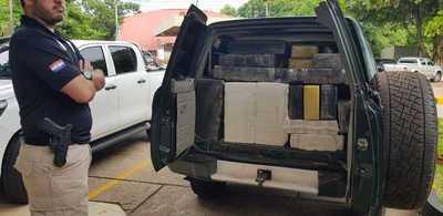 Senad logra interceptar cargamento de 1.120 kilos de marihuana en Ñeembucú