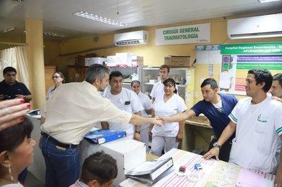 Gobierno inaugura modernas obras en Hospital de Encarnación