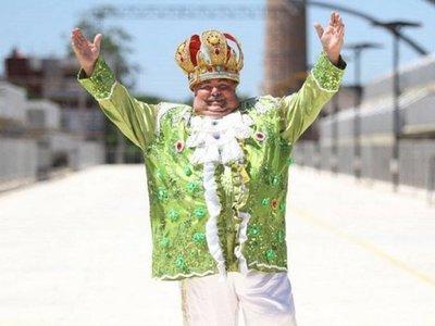 """Papacho"" se despidió del sambódromo"