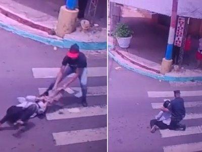 Critican a policía por no perseguir a asaltante tras un robo