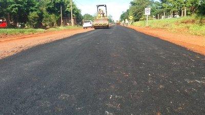 MOPC inicia obras de asfalto en tramos de San Pedro