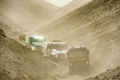Séptima etapa del Dakar se vio retrasada a causa de la niebla