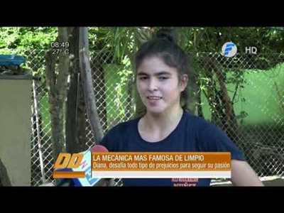 La joven que sueña con ser la primera ingeniera electromecánica