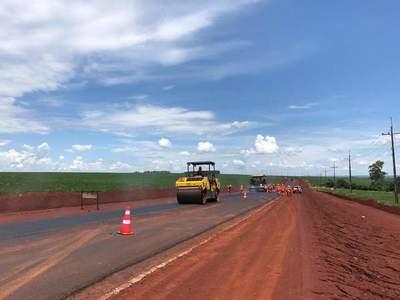 Avanzan los trabajos para la ruta Naranjal-San Cristóbal