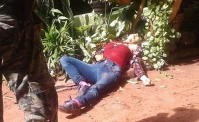 Encuentran cadáver de una mujer con varias puñaladas