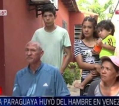 Familia paraguaya estuvo 38 años en Venezuela y retorna al país