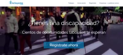 Abren portal de empleo para discapacitados