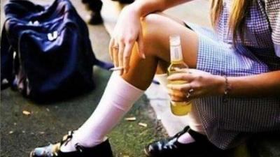El 20% de los niños de quinto y sexto de primaria en México beben alcohol