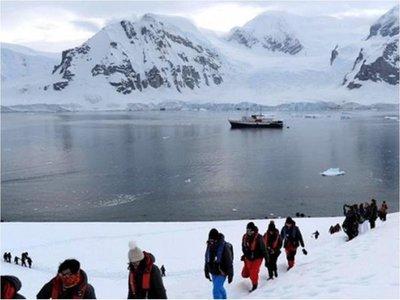 Líderes científicas dan el primer paso en Antártida