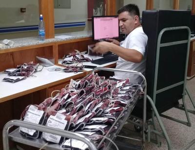 Banco de sangre puede quedar desabastecido
