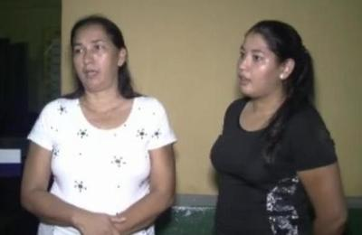 Madre e hija viven momentos de terror en Limpio