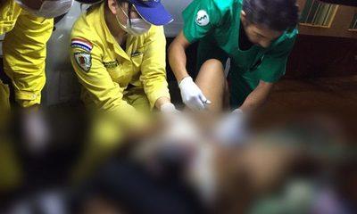 Bebé nace a bordo de ambulancia de bomberos