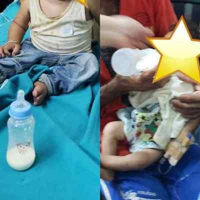 Menores internados por un cuadro severo de desnutrición