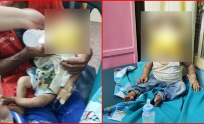 Internan a dos niños en grave estado de desnutrición