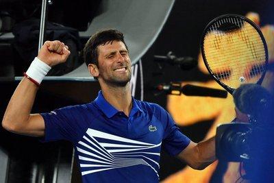 Djokovic arrancó su marcha por la 7ª corona en Melbourne
