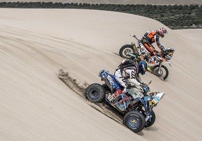 Sanabria sale a la 8ª etapa del Dakar en 9º lugar