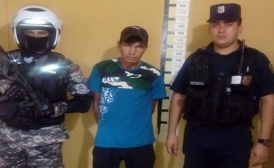 Detienen en Caaguazú a supuesto autor de feminicidio en Yby Yau