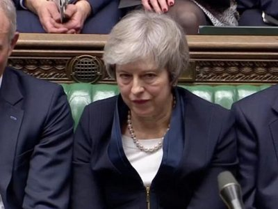 """El Parlamento británico rechaza el acuerdo del """"brexit"""" de May"""