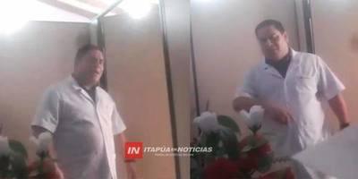 DENUNCIAN ACTO DE SUP. PREPOTENCIA DENTRO DEL HOSPITAL REGIONAL