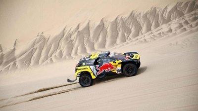 Francés Loeb gana la octava etapa del Rally Dakar