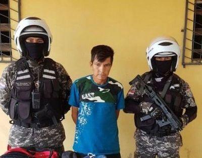 Detienen a presunto feminicida en Caaguazú